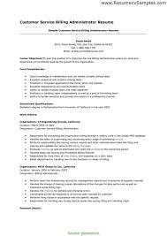Simple Customer Service Administrator Job Description For Resume