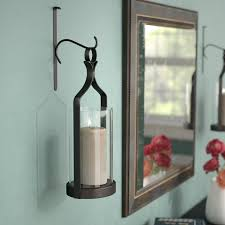 unthinkable large wall sconce candle you ll love wayfair glass wrought iron lighting for flower shelf uk indoor decorative