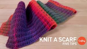 Knitted Scarf Patterns Simple How To Knit A Scarf 48 Tips For Beginners Craftsy Knitting