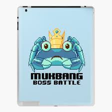 MUKBANG - KING CRAB (BLUE) Boss Battle ...
