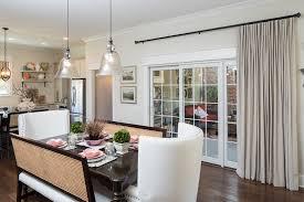 curtain window treatment for sliding glass doors