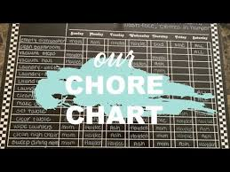 Imom Chore Chart Our Chore Chart Large Family Daily Chore Organization