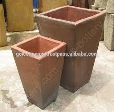 [wholesale] Square Rustic copper pots - High fire clay pots - Big trough  Atlantis