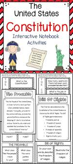 best ideas about united states constitution us the constitution interactive notebook activities