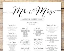 Free Printable Seating Chart Simple Wedding Reception Seating Arrangement Chart Typical Ceremony
