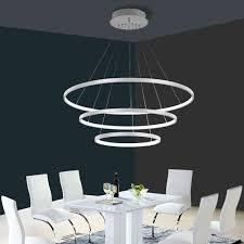 3 circular ring ceiling pendant light 20 40