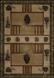 fancy design ideas earth tone area rugs marvelous pine barrens is a with greens 5x8 pinecone