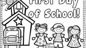 Small Picture First Day Of Second Grade Coloring Page 2017 Coloring First Day Of