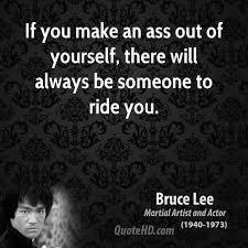 Make an ass of yourself