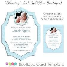 invitation card templates free download baptism card template invitation for graceful invitations