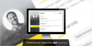Premium Layers Wordpress Vcard Resume Theme Free Download