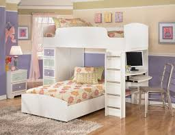white childrens bedroom furniture kids twin bed furniture white ...
