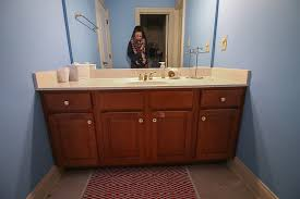 Refinishing Bathroom Vanity