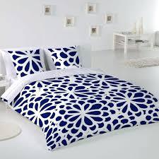 paduana diana super king duvet cover set blue cotton double duvet covers double duvet cover