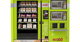 Cheeseburger Vending Machine Fascinating NHS Cash For Healthier Snacks Spent On Vending Machine Selling
