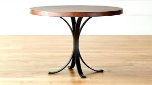 coffee table legs diy copper table legs round iron bistro with top crate and barrel coffee table legs diy