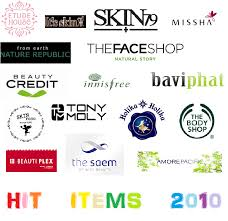 2010 best selling s of various korean skincare brands