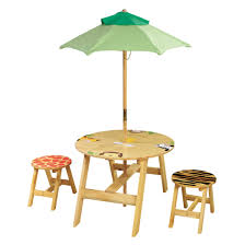 Round Table Seating Capacity Fantasy Fields Kids 3 Piece Round Table And Chair Set Reviews