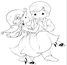 Wedding Colouring Pages To Print Fancy Dress Coloring Pages Dresses