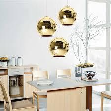Kitchen Globe Lights Coquimbo Globe Pendant Lights Copper Glass Mirror Ball Hanging Lamp Kitchen Modern Lighting Fixtures Hanging Light