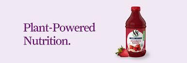 V8 Strawberry Banana Light V8 Fruit Vegetable Blends V8