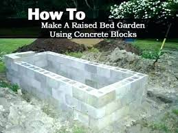 raised garden beds cinder blocks concrete block raised garden bed plans raised garden beds cinder blocks
