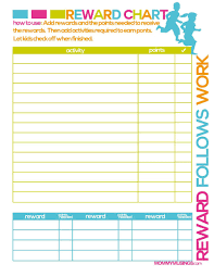 Child Incentive Chart 44 Printable Reward Charts For Kids Pdf Excel Word
