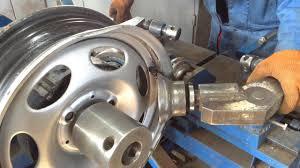 Погнут <b>колесный диск</b> | Repair Rim - YouTube