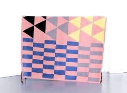indigo blue geometric chindi reversible amarah area rug contemporary multi color