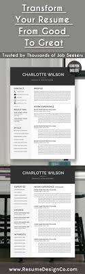Best 25 Good Resume Templates Ideas On Pinterest Good Resume