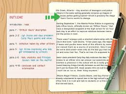 Writing A Newspaper Article The Best Way To Write A News Article Wikihow