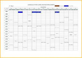 Car Service Record Template Vehicle Schedule Template Truck Maintenance Spreadsheet And