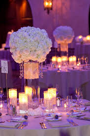 White And Gold Decor Decor Themes White Gold With A Splash Of Purple Lighting I Do