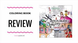 neverending story coloring book for s review