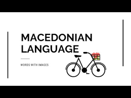 macedonian words with images learning