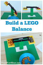 Chart Of Lego Pieces Build A Lego Balance Frugal Fun For Boys And Girls
