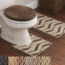3 piece rug set print