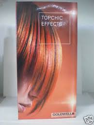 Details About Goldwell Topchic Effects Professional Max Reds Bi Fold Swatch Chart Booklet