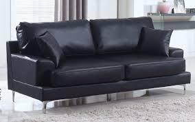 modern leather sofa white elegant