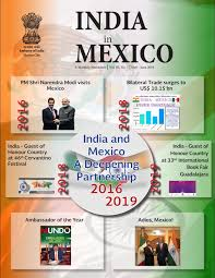 Mexico Sat Chart Of Accounts India In Mexico Newsletter May June 2019 By Embassy Of India