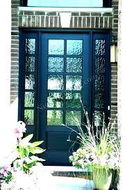 replace front door glass panels in replacement fancy