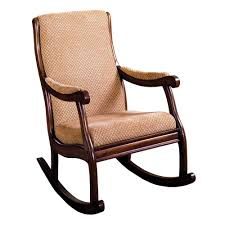 padded rocking chair. Plain Chair Liverpool Antique Oak Fabric Rocking Arm Chair In Padded D