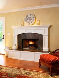 fireplace raised hearth. traditional fireplace marble surround and raised hearth | insert with tumbled l