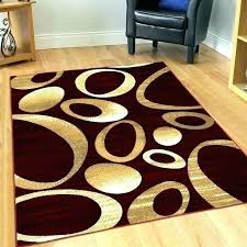 red circle area rug circle area rug rugs burdy carved circles modern geometric size half round