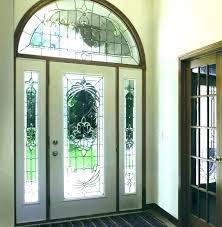 front door oval glass inserts front door replacement oval glass inserts