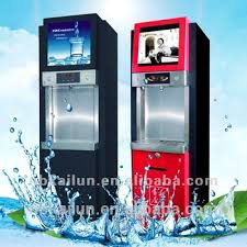 Commercial Water Vending Machine Interesting Card Operated With Lcd Advertising Players Commercial Ro Water