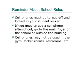 cell phone safety  hurting feelings 7 reminder about school rules cell phones