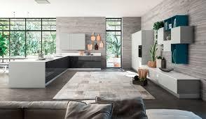 italian kitchen furniture. Interesting Furniture Lyons Italian Modern Contemporary Kitchen Furniture White Anthracite Inside N