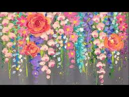 Small Picture Top 25 best Acrylic painting flowers ideas on Pinterest