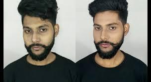 men s natural makeup tutorial indian dusky skin tone indian beauty ger